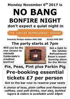No Bang Bonfire Night 2017