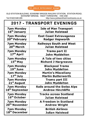 Transport Evenings 2017